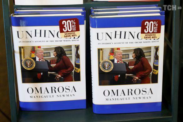 """Омароса Маніголт, книжка, """"Навіжений: інсайдерська інформація зсередини Білого дому"""", Unhinged"""