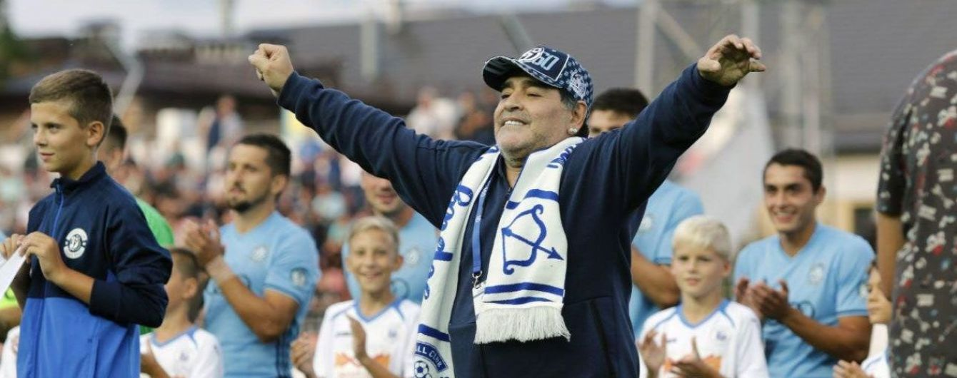 Марадона стал тренером мексиканского клуба