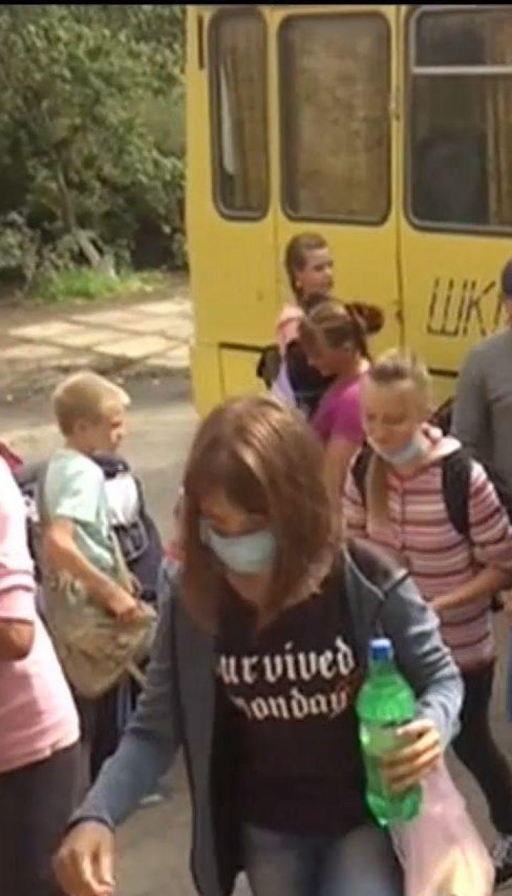 На Херсонщине продолжается эвакуация детей из-за экологической катастрофы в Крыму
