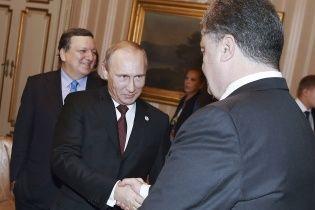 Путин угрожает Порошенко начать наступление, если он не признает сепаратистов и не откажется от НАТО - СМИ