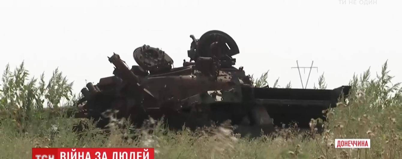 """Пропагандисти із """"ДНР"""" мало не щомісяця """"підбивають"""" один і той же танк і показують це в новинах"""