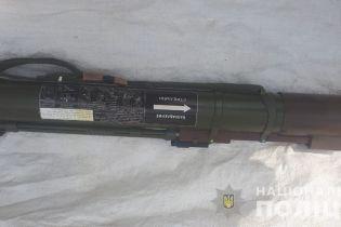 У мешканки Луганщини вилучили гранатомет