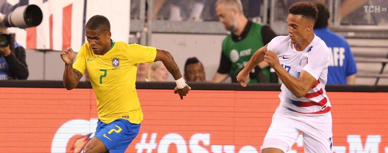 """Бразилия с тремя экс-футболистами """"Шахтера"""" уверенно разобралась с США"""