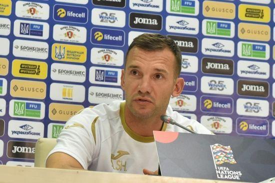 Шевченко: ми мотивовані, незважаючи на те, що ми вирішили вже все в Лізі націй
