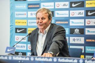 Тренер збірної Словаччини: схема гри у збірної України не міняється