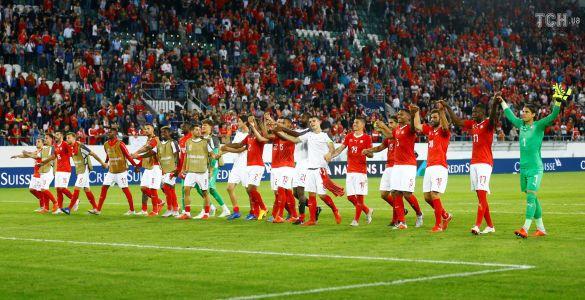 Футболісти збірної Швейцарії