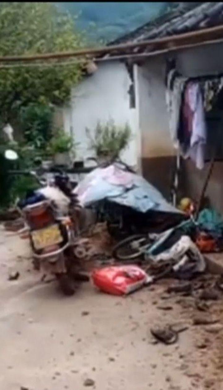Китай сколихнув землетрус магнітудою 5,9 бала