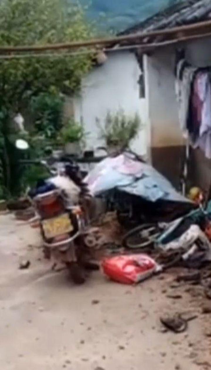 Китай всколыхнуло землетрясение магнитудой 5,9 балла