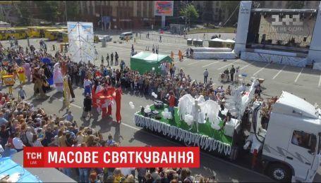 Сразу несколько городов Украины отпраздновали свой день рождения