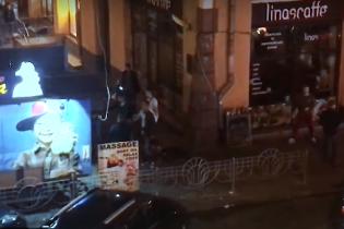 В воскресенье в центре Киева произошла массовая драка со стрельбой