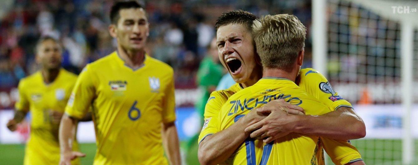 Бурда замість Кривцова: став відомий стартовий склад збірної України на матч зі Словаччиною
