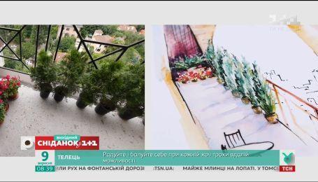 Наталія Підлісна допомогла освіжити балкон за допомогою туї – Турнір балконів