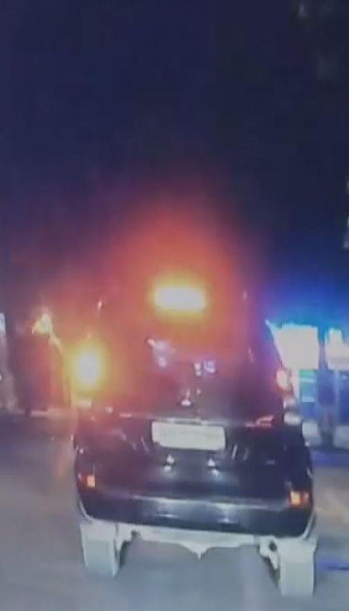 Жуткая авария в Одессе. BMW на полной скорости влетел в остановку с людьми