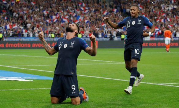 Радість футболістів збірної Франції