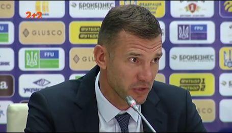 Андрей Шевченко: У нас впереди - тяжелейшие матчи