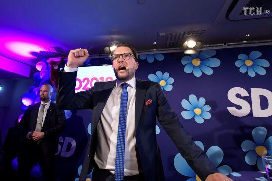 У Швеції ультраправа антиіммігрантська партія посіла друге місце на парламентських виборах