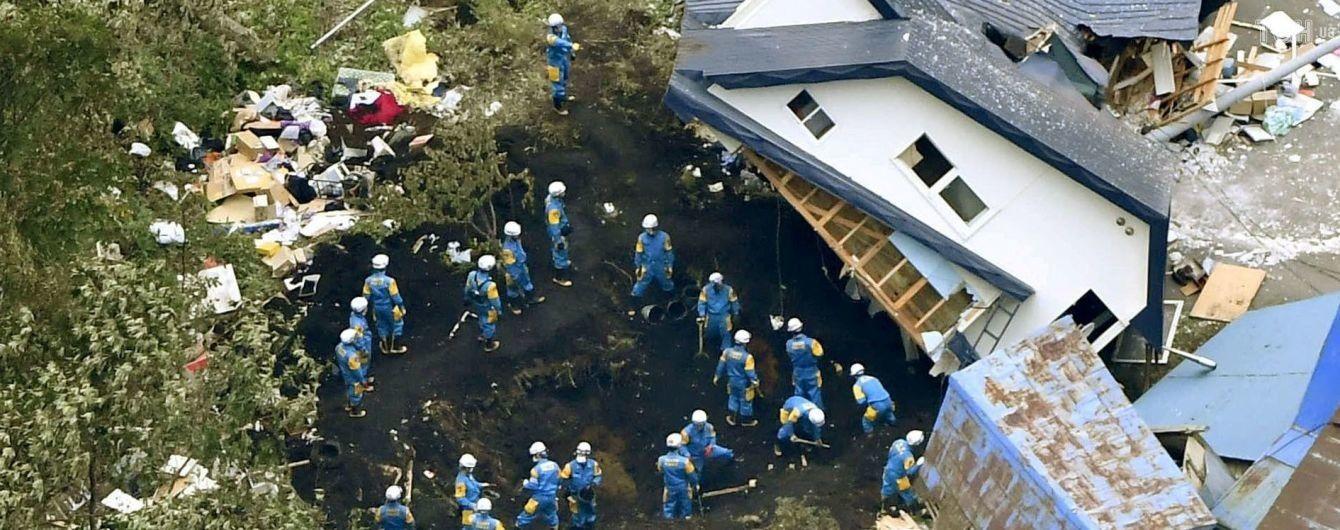 Землетрус на острові Хоккайдо в Японії: рятувальники продовжують знаходити тіла загиблих