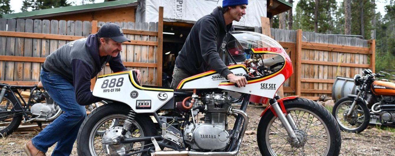 Американец установил рекорд на мотоцикле заправленном водкой