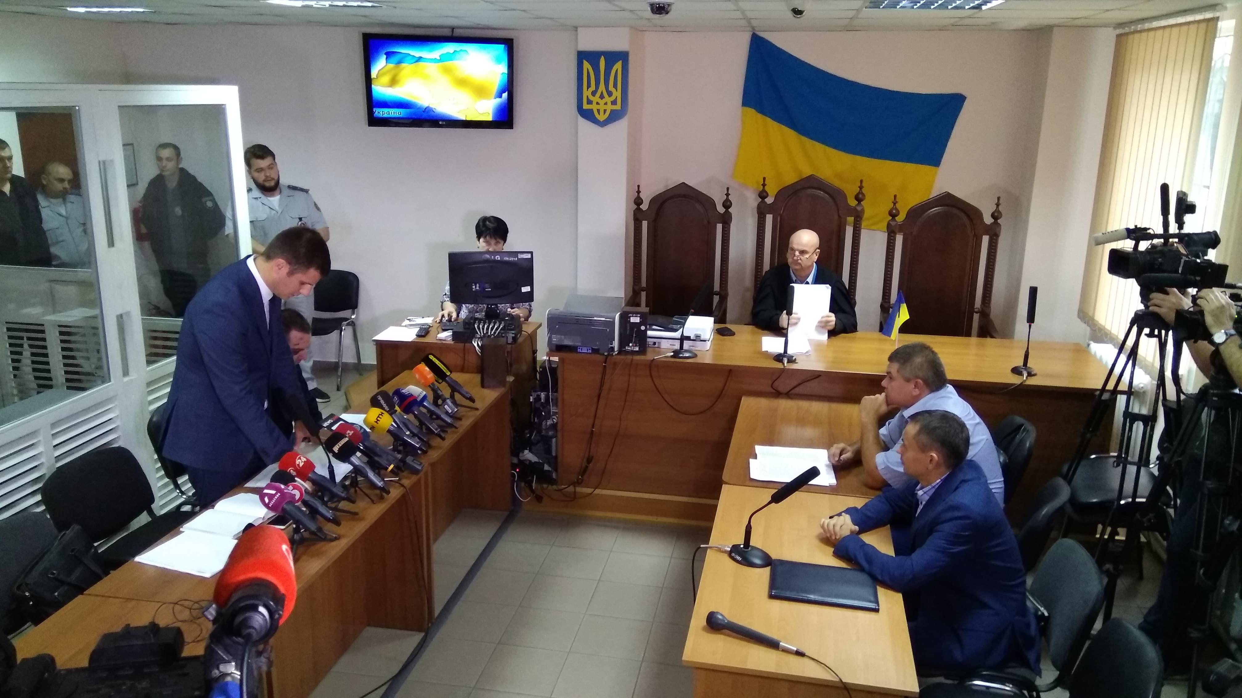 Суд над гонщиком в Одесі