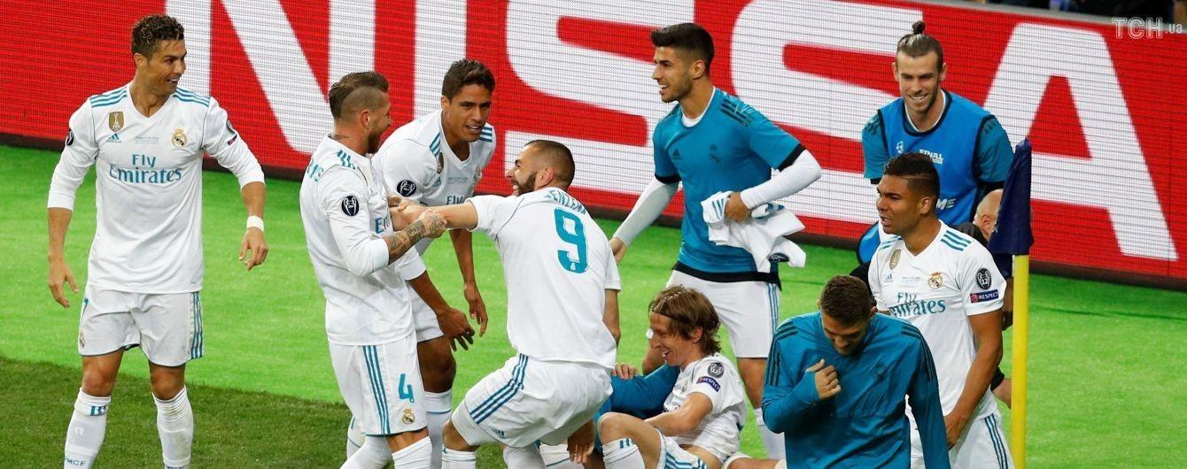 """10 игроков """"Реала"""" и Роналду претендуют на попадание в символическую команду сезона-2017/18"""
