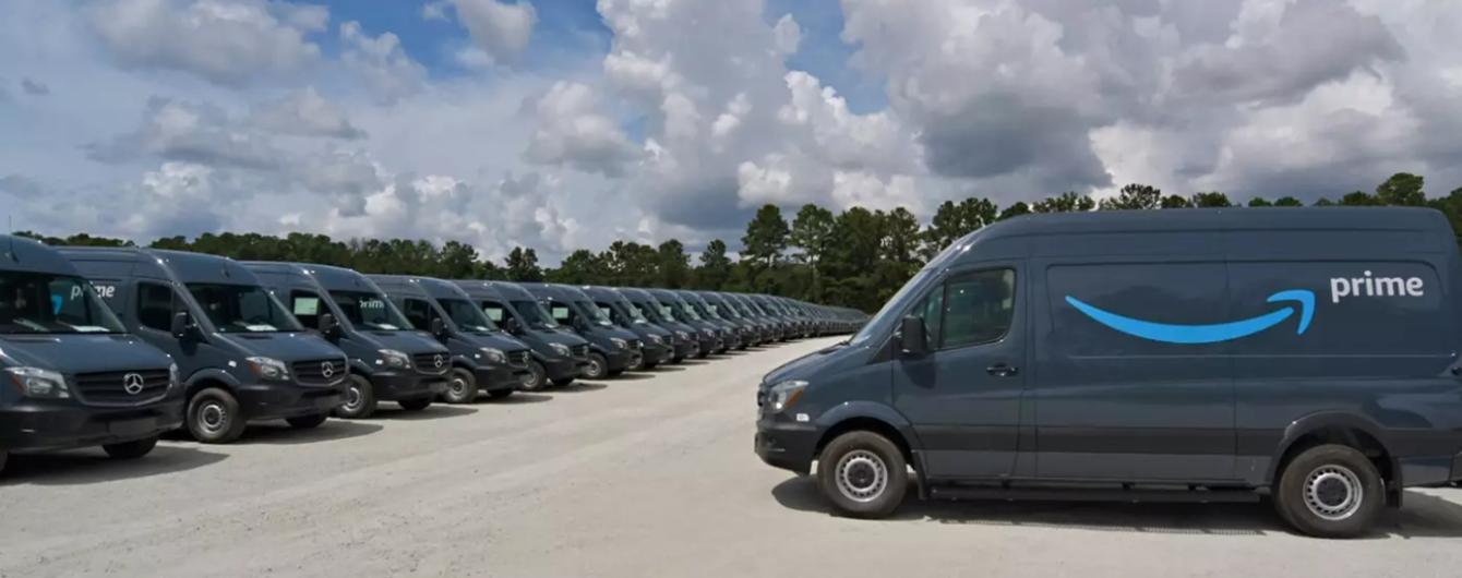 Amazon сделал историческую закупку микроавтобусов Mercedes-Benz