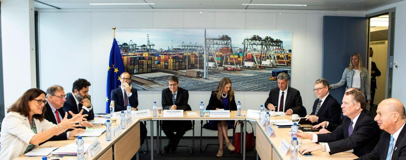 США и Евросоюз возобновили активные торговые переговоры