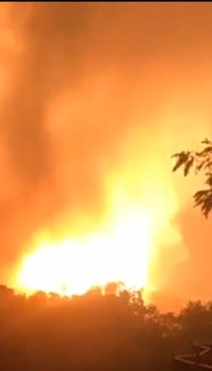 У штаті Пенсильванія стався потужний вибух на газопроводі