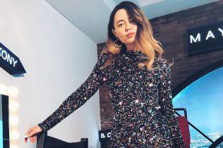 Надя Дорофєєва у блискучій сукні продемонструвала розкішний образ