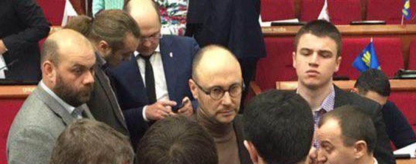 """У """"Самопомочі"""" заявили про розпуск фракції у Київраді"""