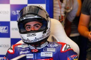 Итальянский мотогонщик нажал на тормоз соперника на скорости 220 км/ч