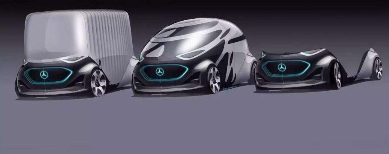 Компанія Mercedes-Benz показала футуристичне майбутнє міських фургонів