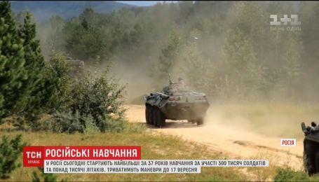 У Росії розпочинаються навчання за участю 300 тисяч солдатів