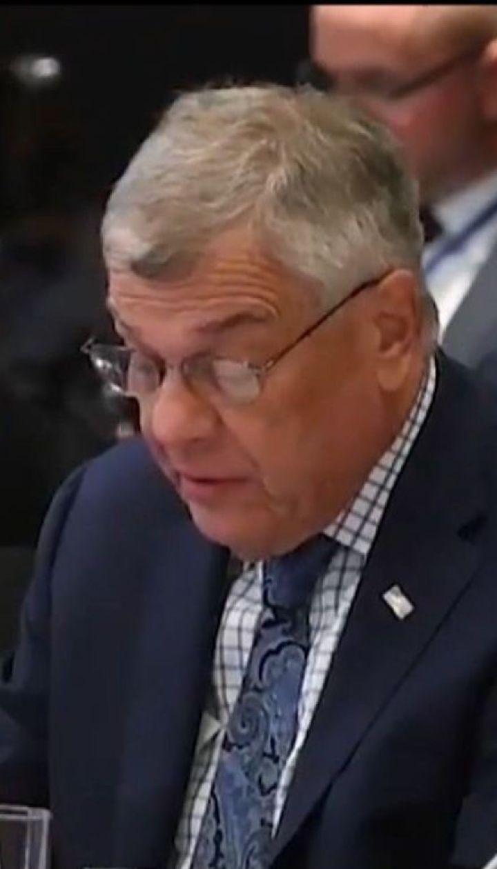 Глава американской делегации призвал освободить Сенцова и других украинских политзаключенных