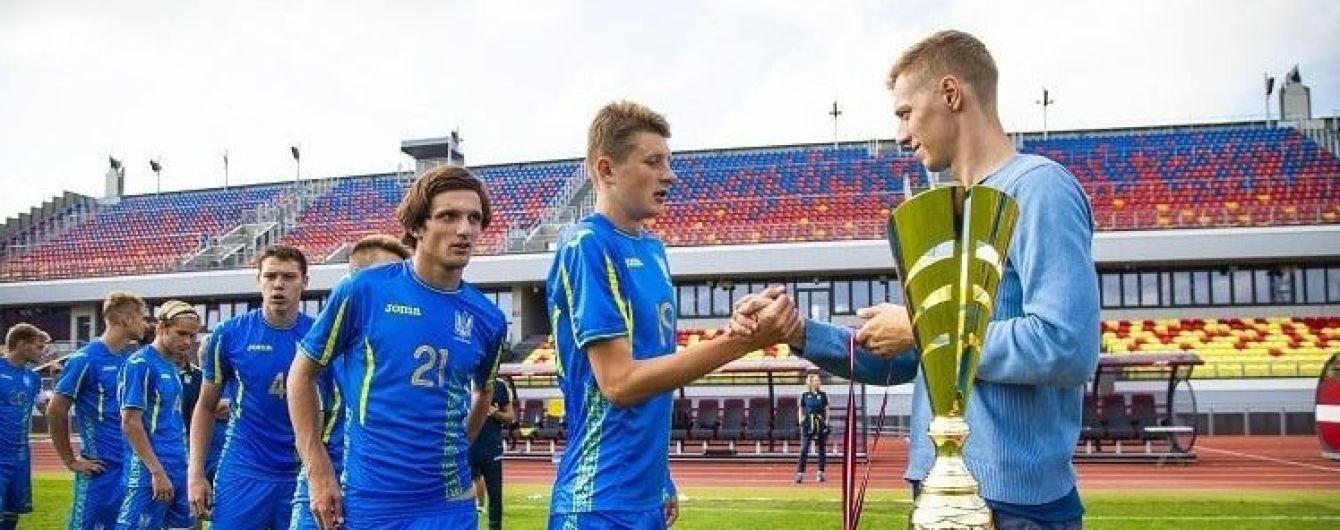 Сборная Украины победила на международном турнире в Латвии