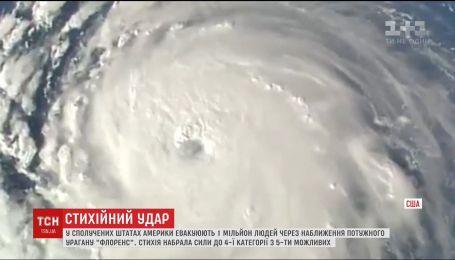 """На США надвигается сильнейший за десятилетия ураган """"Флоренс"""""""