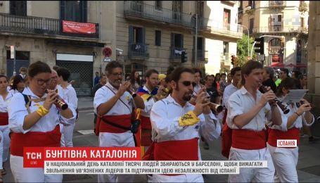 В Каталонии снова будут митинговать за независимость от Испании