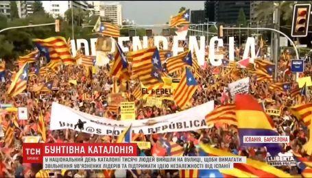 Бунтующая Каталония. В Испании - снова акции протеста