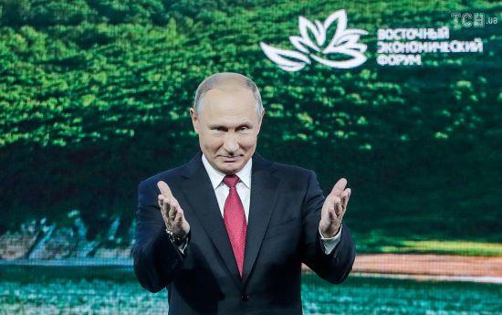 Путін запропонував Японії підписати мирний договір щодо Курильських островів