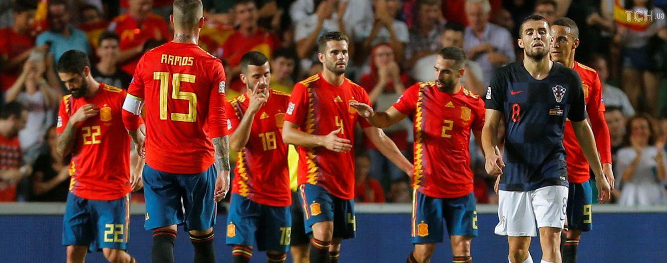 Сборная Испании в историческом матче нанесла сокрушительное поражение Хорватии