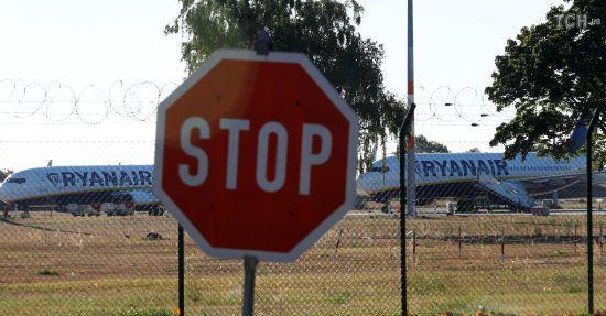Ryanair збільшив кількість скасованих рейсів до 250 через масштабний страйк