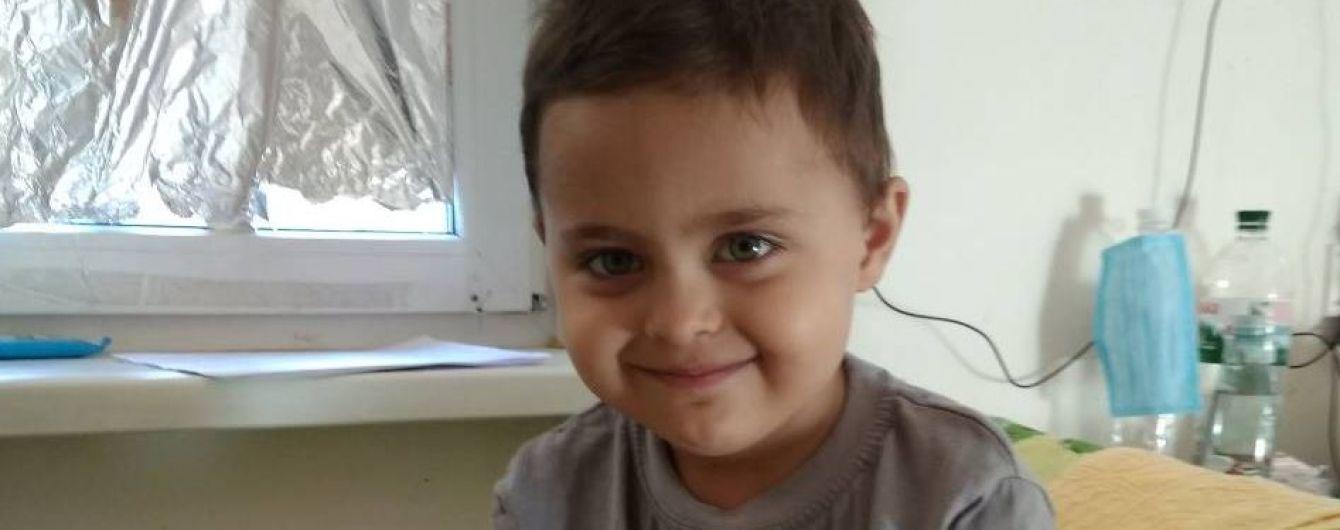 3-летний Олег нуждается в немедленной помощи