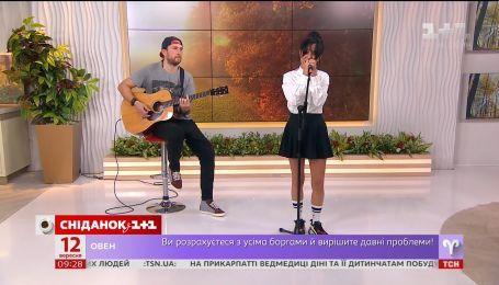 Даша Суворова презентовала свой новый студийный альбом в Сніданку з 1+1