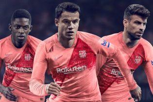 """""""Барселона"""" показала третий комплект формы, он розовый"""