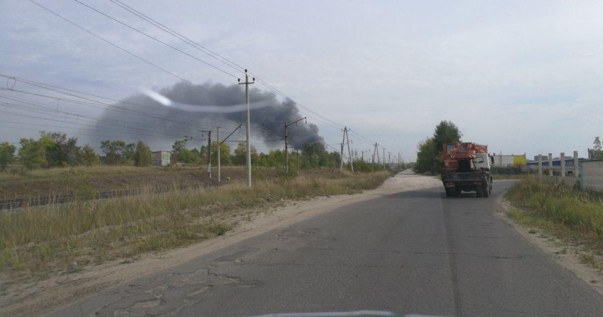 В России вспыхнул пожар на химическом предприятии, есть погибший