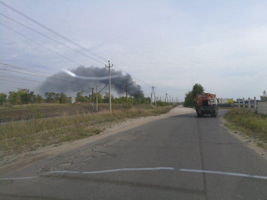 пожежа Дзержинськ