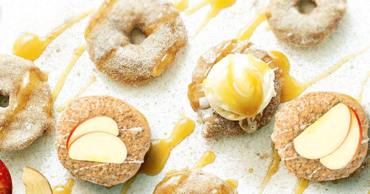 Запечені яблука з медовим соусом – яскравий смак осені