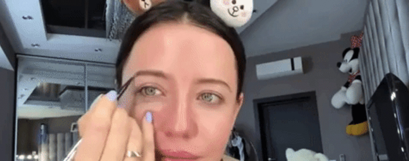 Надя Дорофеева показала, как делает себе дневной мейк-ап