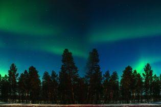 """Вчені зняли на відео """"дивовижні танці"""" північного сяйва у Фінляндії"""