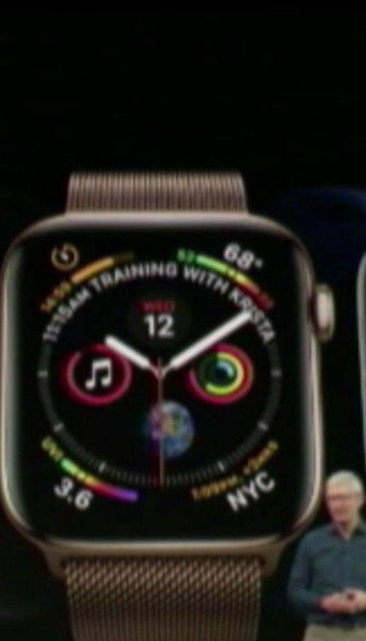 Корпорация Apple представила три новые модели смартфонов и модернизированные умные часы