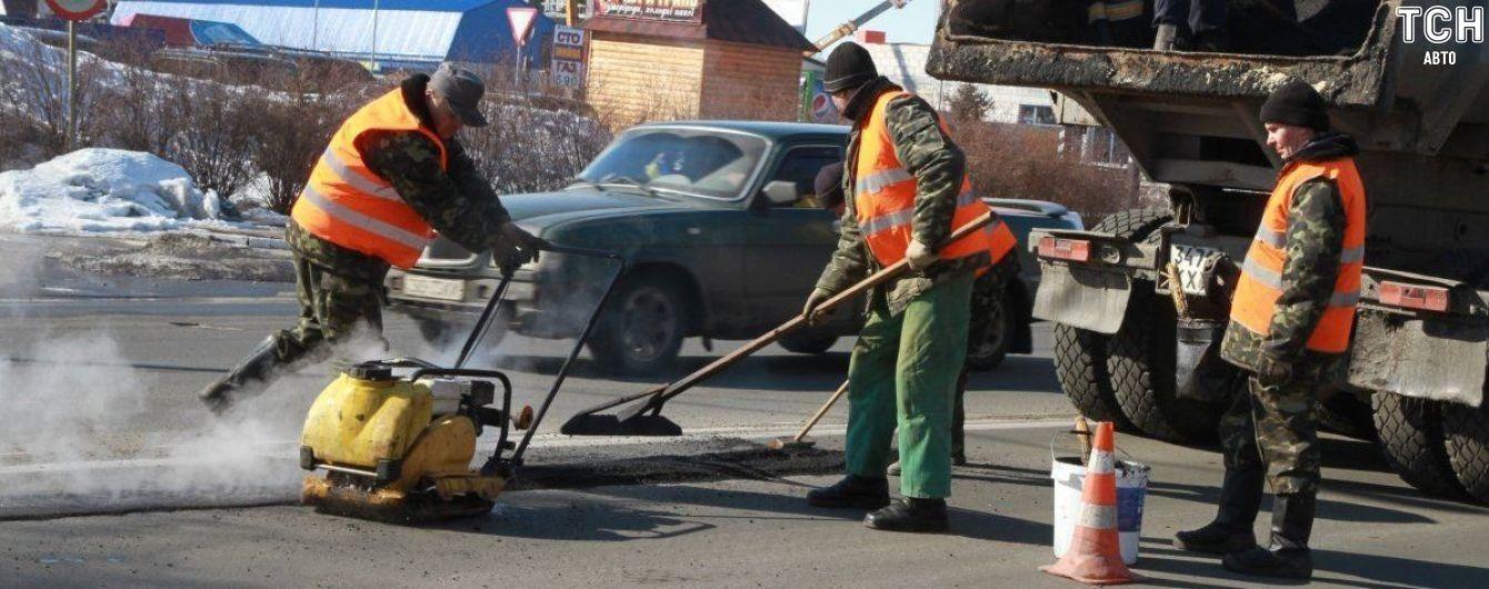 В Украине наконец откажутся от ремонтов дорог зимой